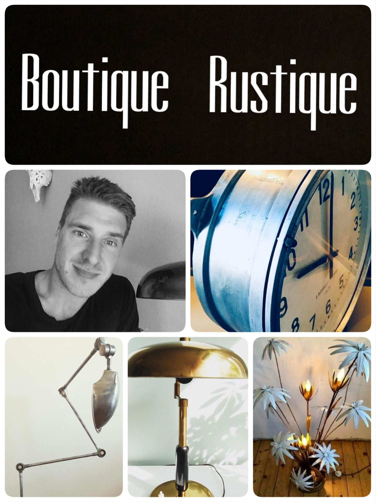RUSTIQUE BOUTIQUE - vintage Deluxe Marked